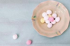 手持ちの写真撮影用ボードにプラスして別色ボードに・・アイシングクッキーの先生アイデア