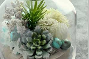 大人気、石風なストーンボード、あらゆる分野で大活躍。お花で人気の先生、BORONIA(ボロニア)恵津子さんの場合。