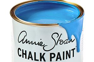 アニースローンチョークペイント、2016年新色です。ジヴェルニーという鮮やかなブルー